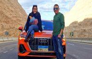 اتفرجوا على إختبار قيادة السيارة Audi Q3 2020