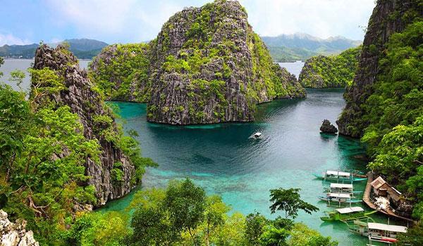 جزيرة بالاوان الفلبينية .. واحدة من أجمل الجزر في العالم