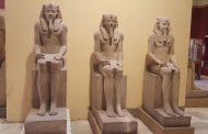 المتحف المصرى الكبير يستقبل مجموعة تماثيل الملك سنوسرت الأول