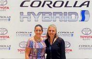 إختبار قيادة السيارة الجديدة تويوتا كورولا بتكنولوچيا هايبرد بمركز تدريب تويوتا بأبو رواش