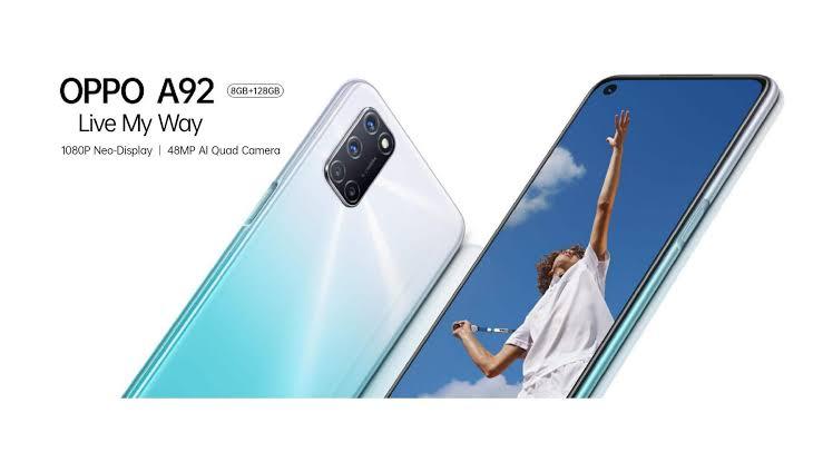 سعر ومواصفات هاتف OPPO A92