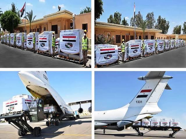 مصر ترسل مساعدات عاجلة لمتضررى السيول بدولة السودان الشقيقة