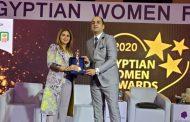 هبة السويدي تفوز بجائزة قلادة المرأة المصرية لدورها الريادي في معالجة القضايا المجتمعية