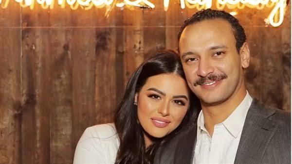 هنادي مهنا وأحمد خالد صالح و أول ظهور بعد عقد قرانهما