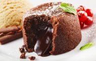 سوفليه الشوكولاتة الشهي بطريقة سهلة