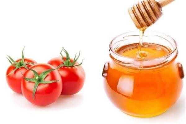 ماسك الطماطم والعسل لتبييض ونضارة البشرة المختلطة