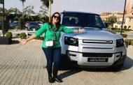 المؤتمر الصحفي الخاص بعرض السيارة لاند روفر الديفندر الجديدة