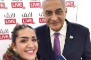 لقاء حصري لمجلة لايڤ مع المذيع أسامة كمال الرئيس التنفيذي لشركة Mercury Communications الشركةالمنظمة لمعرض Cairo ICT