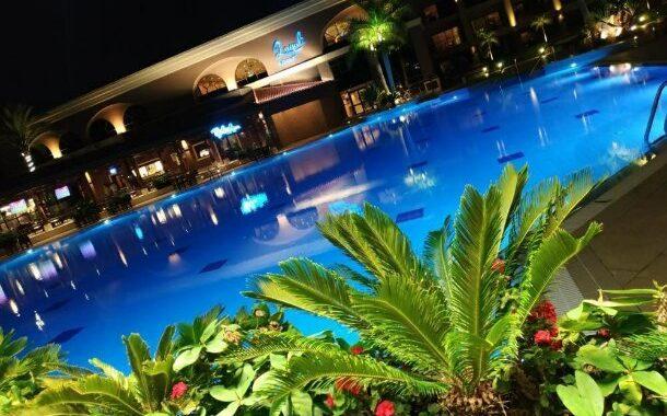 شرح كامل عن Le Terrasse في فندق هيلتون كينجز رانش ... تحفة فنية بمعنى الكلمة