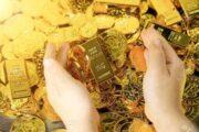 أسعار الذهب فى التعاملات المسائية اليوم 22 يناير 2021