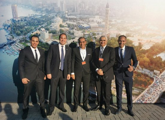 وضع حجر الأساس لمشروع عين القاهرة Cairo Eye أكبر عجلة دوارة في أفريقيا