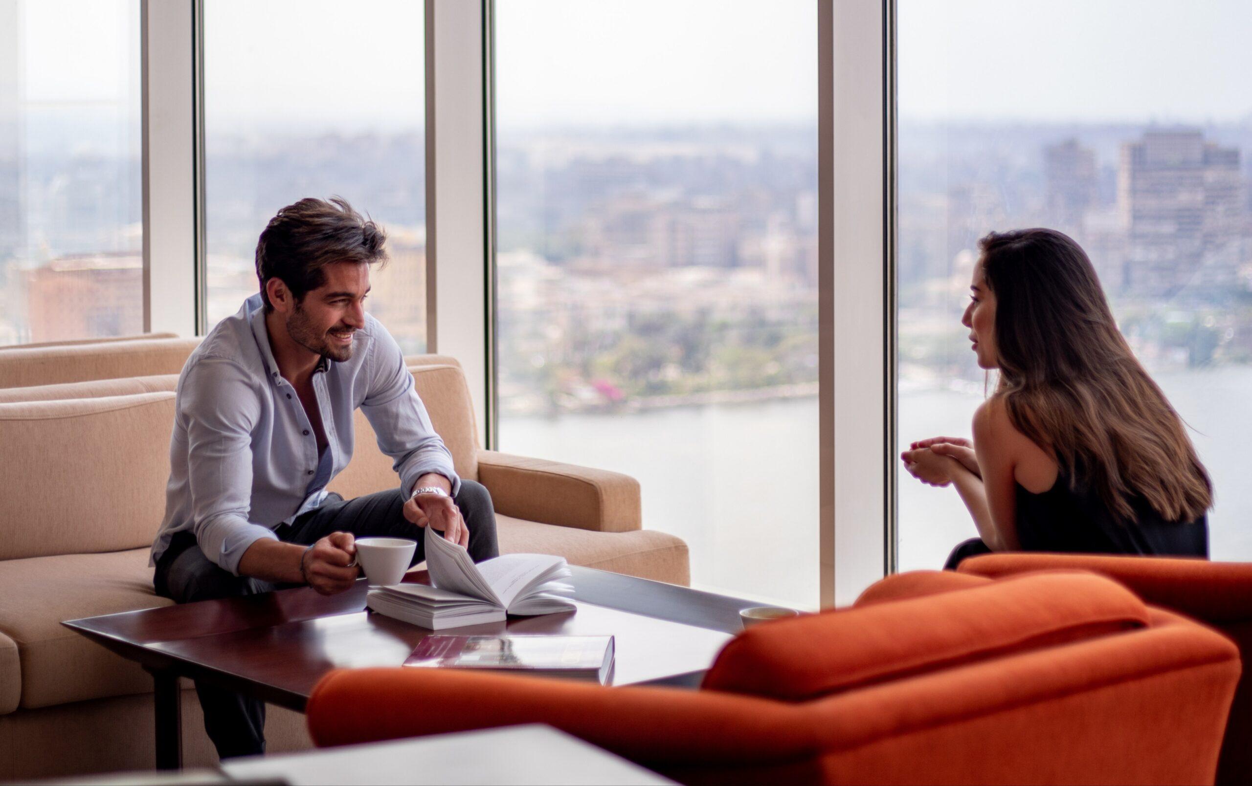 قم بقضاء وقت ممتع بالإقامة فيفندق شيراتون القاهرةبإطلالة رائعة على نهر النيل