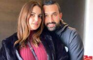 النجمة درة في أحدث صورة لها مع زوجها