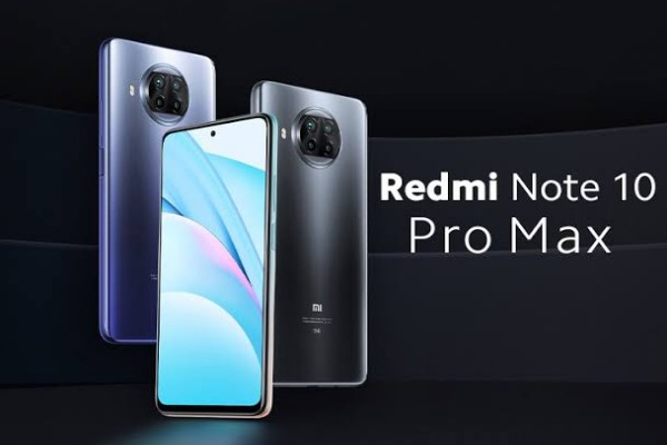 Redmi Note 10 Pro Max من شاومى بمواصفات خارقة