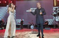 أقوى حفلة للمطربة اليونانية إيريني بابا في حفل سكاي أبوظبي للتطوير العقاري