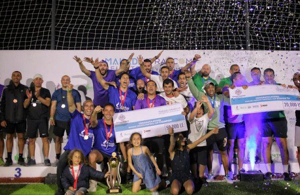وزارة الشباب وهيئة السياحة ومحافظة البحر الأحمر يحتفلون بنهائيات بطولة كأس مكادي هايتس لكرة القدم