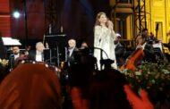 دموع ماجدة الرومي وتأثرها الشديد بشهداء لبنان وأوضاعها