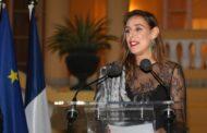 نادين عبدالغفار تتقلد وسام فارس الفنون والأدب من فرنسا