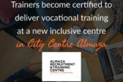 تطوير الشباب في مجالي البيع بالتجزئة والضيافة في مركز تدريب مهني جديد في سيتي سنتر ألماظة