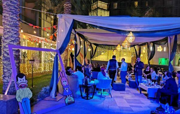 إفتتاح خيمة شهرزاد بفندق ميريديان المطار