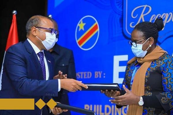 بنية توقع اتفاقية المساهمين مع شركة البريد والاتصالات بالكونغو الديمقراطية لتأسيس شركة إتصالات جديدة في أفريقيا