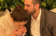قبلة شام الذهبي على يد خطيبها تثير الجدل .. حب أم خضوع؟