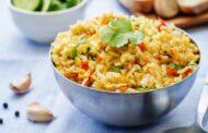 أرز بسمتي بالخضار والكاري .. تعرفي عليه