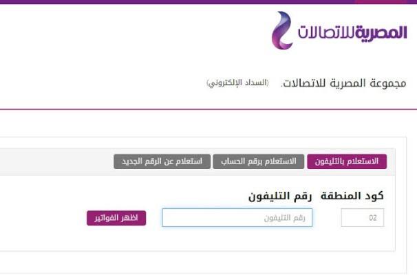 المصرية للاتصالات : انتهاء فترة السماح لسداد فاتورة التليفون الأرضي لشهر أبريل