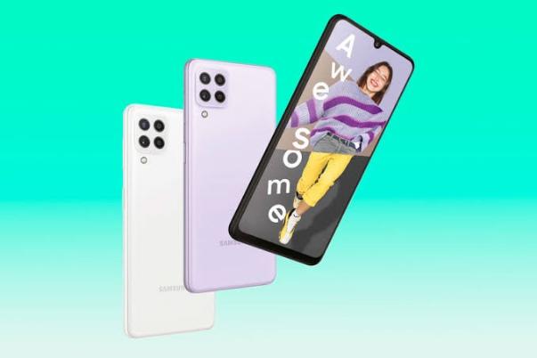 شركة سامسونج : تكشف سعر إصدار 4G من هاتف Galaxy A22