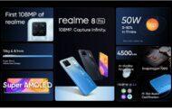 realme تطلق سلسلة realme 8 بكاميرا نقية 108MP فائقة التطور والأداء الرائد