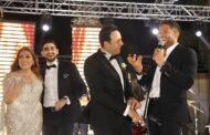 بالصور .. نجوم الفن والغناء يحتفلون مع مصطفى قمر بحفل زفاف إبنه إياد