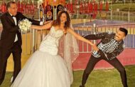 الصور الأولى من حفل زفاف حسن أبو الروس بطل مسلسل بـ100 وش علىغادة والي في الملاهي