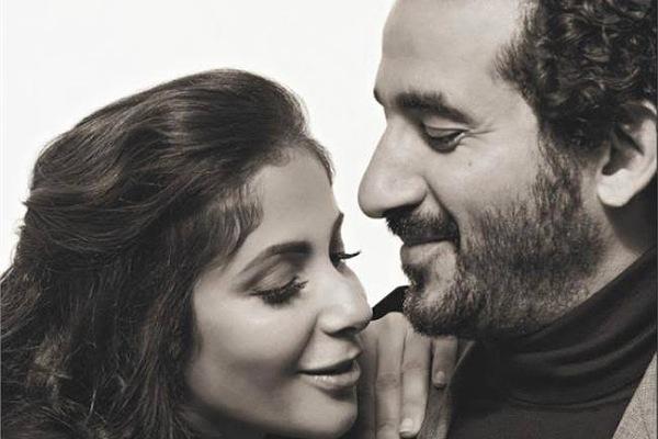 تفاصيل قصة حب منى زكي وأحمد حلمي