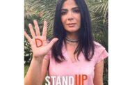 النجمة منى زكي تنضم إلى برنامج STANDUP من لوريال باريس لمكافحة ظاهرة التحرش