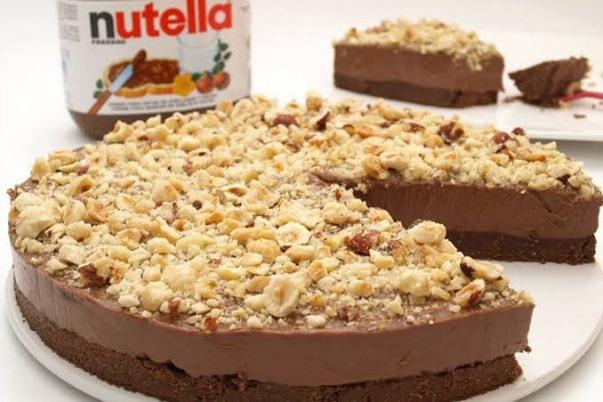 طريقة عمل تشيز كيك البندق والشوكولاتة بأسهل الخطوات