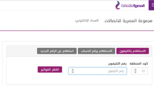 المصرية للاتصالات : طرق تسديد فاتورة التليفون الأرضى لشهر يوليو 2021 ...تعرف عليها
