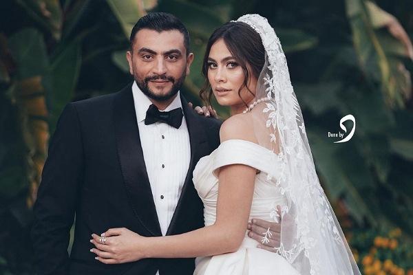 أول فيديو من حفل زفاف هاجر أحمد وأحمد الحداد