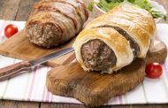 رولات اللحم المفروم بالبف باستري