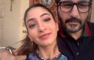 الفنان أحمد حلمى لابنته لى لى