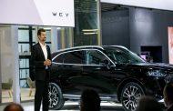 واي الصينية تكشف عن سيارتها الكهربائية الجديدة