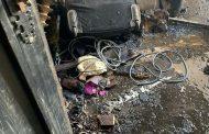 حريق بمنزل الفنان شريف منير