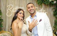 مصطفى كامل يحتفل بخطوبة إبنته فرح في جو عائلي