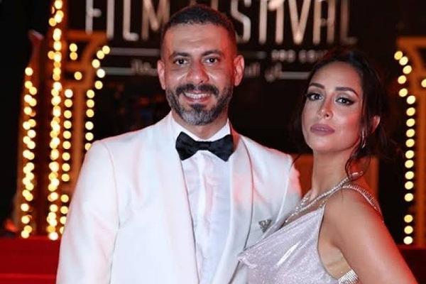 النجم محمد فراج من الجونة ....بسنت زوجتى شرعا وقانونا بس لسة معملناش الفرح