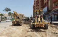 محافظ الإسكندرية يعلن الانتهاء من 80% من أعمال تطوير طريق مصطفى كامل الرئيسي